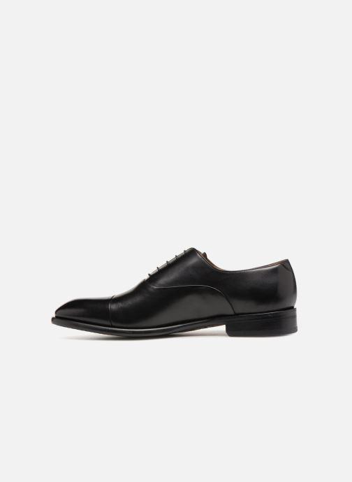 Chaussures à lacets Doucal's Louis Noir vue face