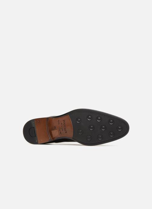 Chaussures à lacets Doucal's Louis Noir vue haut