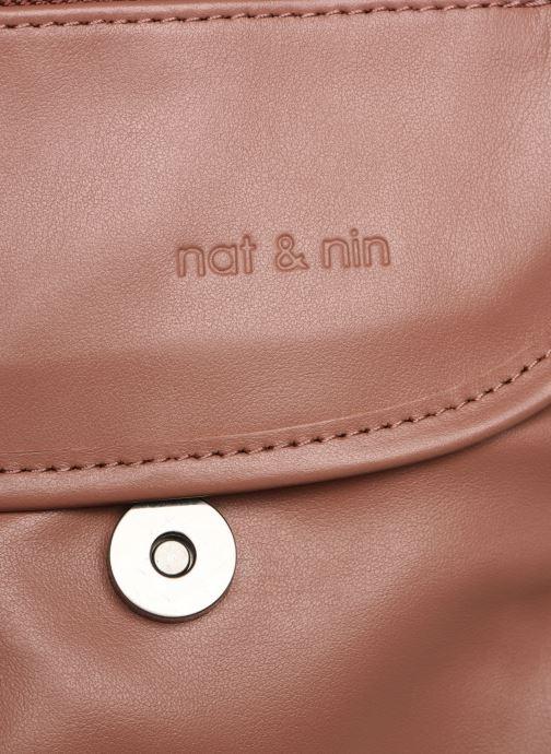 Handbags Nat & Nin Jenny Pink view from the left