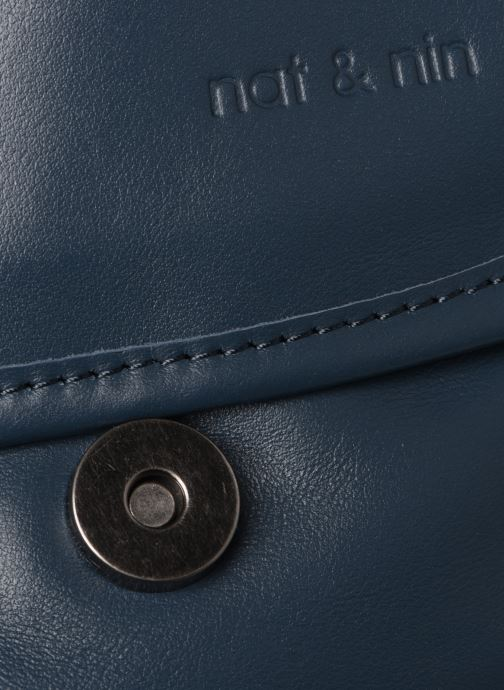 Bolsos de mano Nat & Nin Jenny Azul vista lateral izquierda