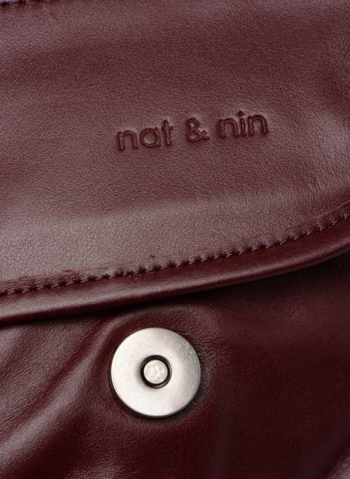 Handtassen Nat & Nin Jenny Bordeaux links