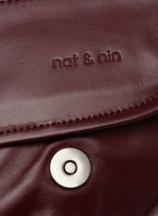 Handtaschen Nat & Nin Jenny weinrot ansicht von links