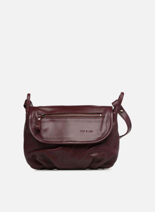 Handtassen Nat & Nin Jenny Bordeaux detail