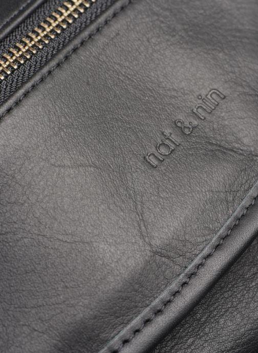 Handtaschen Nat & Nin Jenny schwarz ansicht von links