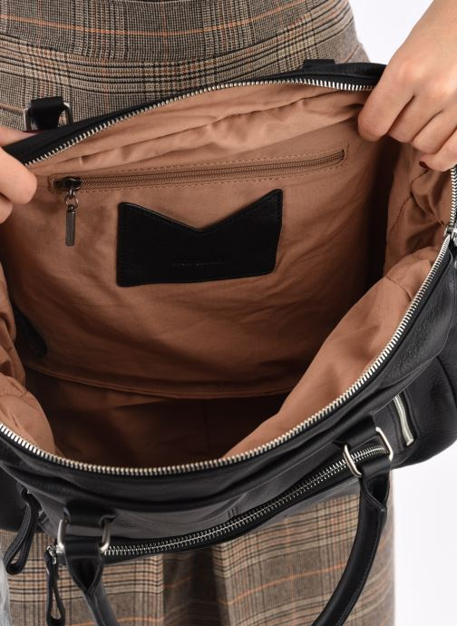 Handtassen Nat & Nin Macy Zwart achterkant