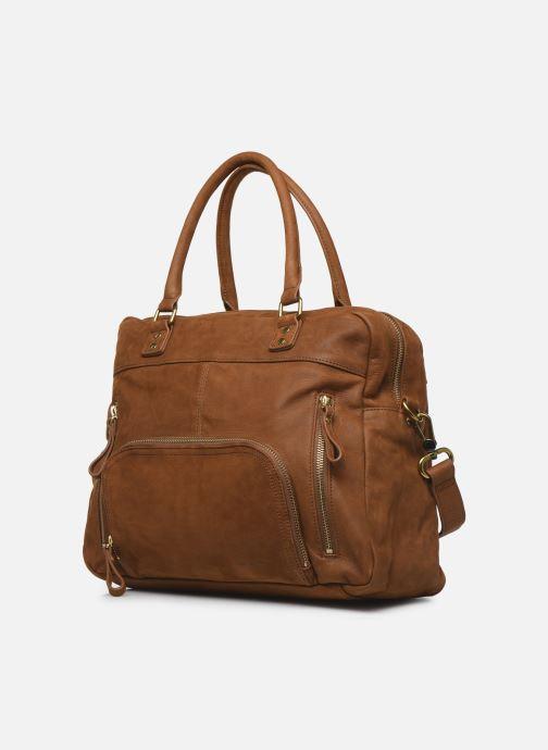 Handtassen Nat & Nin Macy Bruin model