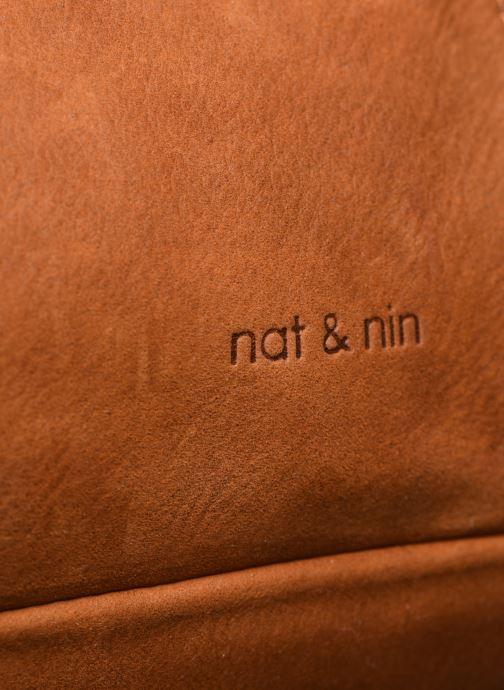 Sacs à main Nat & Nin Macy Marron vue gauche