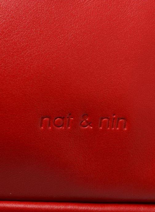 Sacs à main Nat & Nin Macy Rouge vue gauche