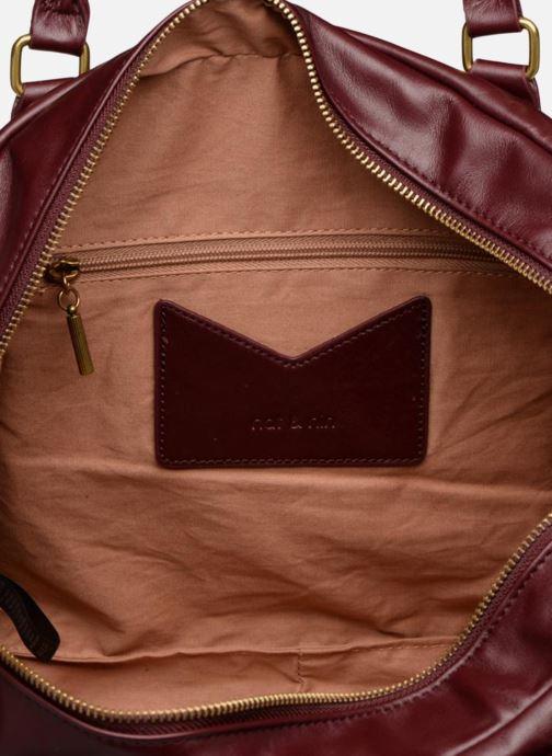 Handtassen Nat & Nin Macy Bordeaux achterkant