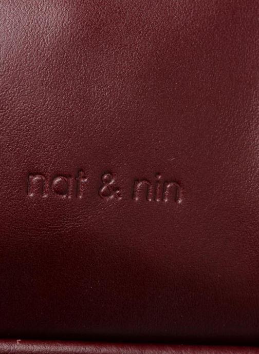 Bolsos de mano Nat & Nin Macy Vino vista lateral izquierda