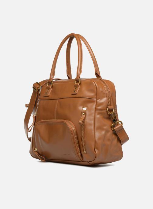 Bolsos de mano Nat & Nin Macy Amarillo vista del modelo
