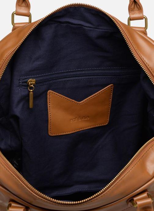 Handtassen Nat & Nin Macy Geel achterkant