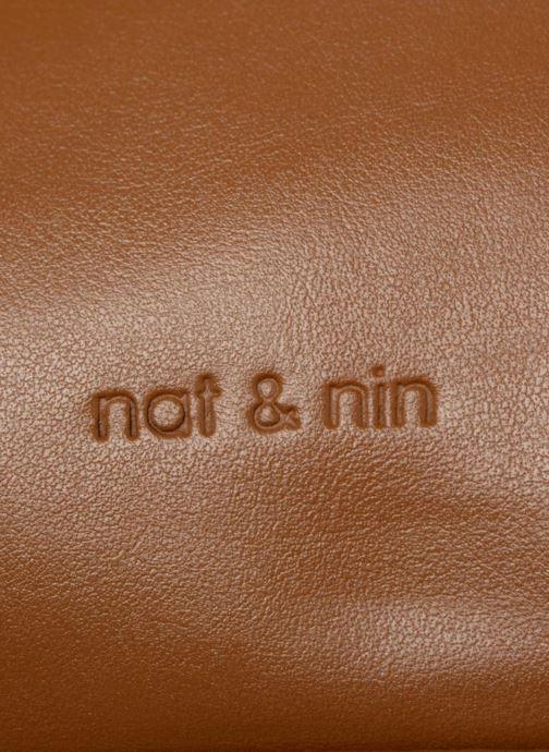 Bolsos de mano Nat & Nin Macy Amarillo vista lateral izquierda