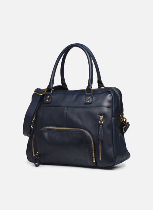 Bolsos de mano Nat & Nin Macy Azul vista del modelo