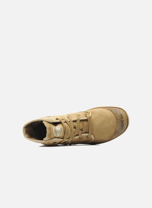 Sneakers Palladium Pallabrousse h Beige immagine sinistra