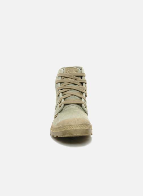 Baskets Palladium Pallabrousse h Vert vue portées chaussures