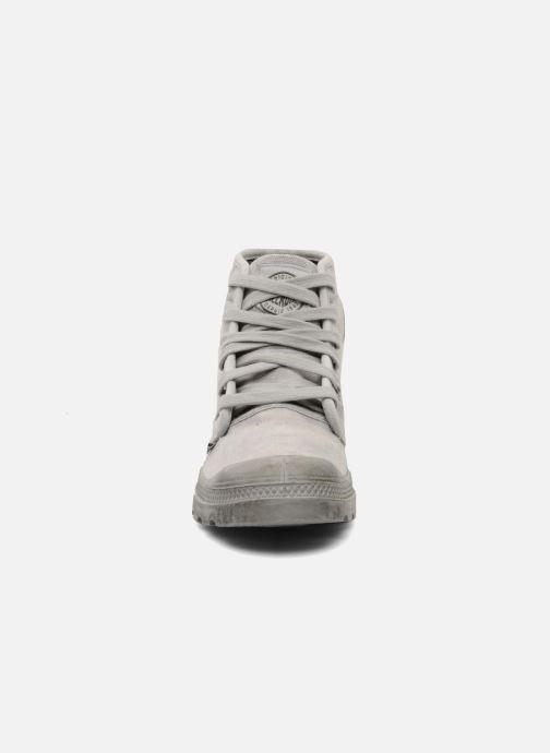 Sneaker Palladium Pallabrousse h grau schuhe getragen