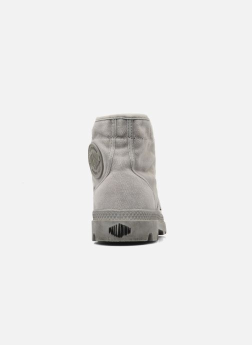 Sneaker Palladium Pallabrousse h grau ansicht von rechts