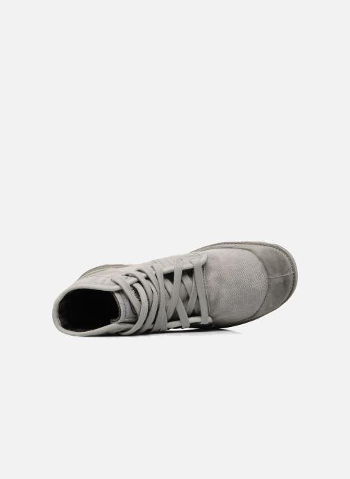 Sneaker Palladium Pallabrousse h grau ansicht von links