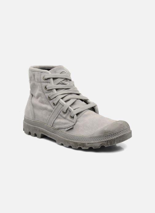Sneaker Palladium Pallabrousse h grau detaillierte ansicht/modell