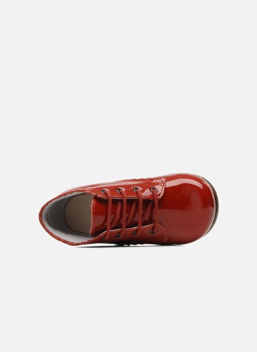 Stiefeletten & Boots Little Mary Vivaldi rot ansicht von links