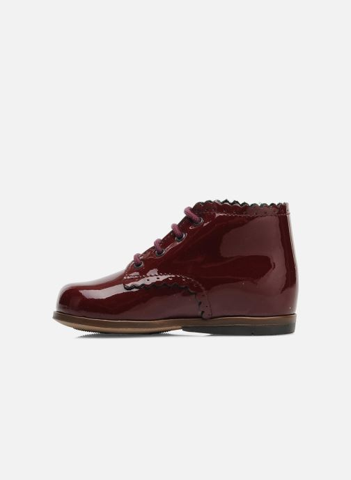 Ankle boots Little Mary Vivaldi Burgundy front view
