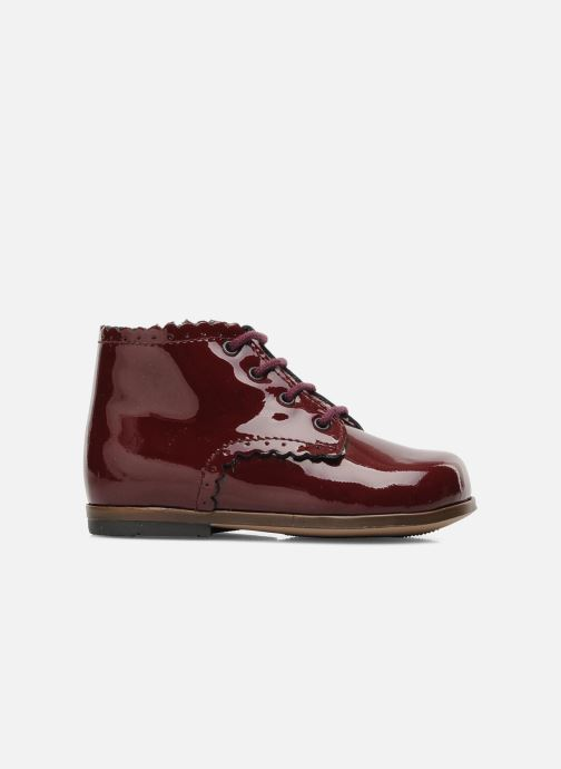 Ankle boots Little Mary Vivaldi Burgundy back view