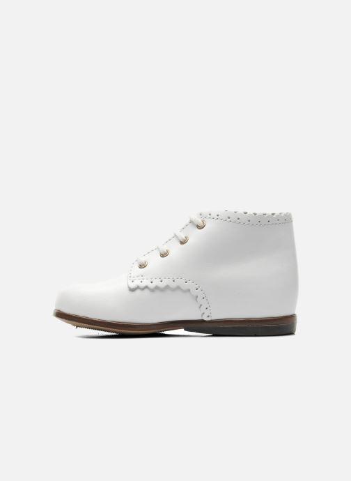 Bottines et boots Little Mary Vivaldi Blanc vue face