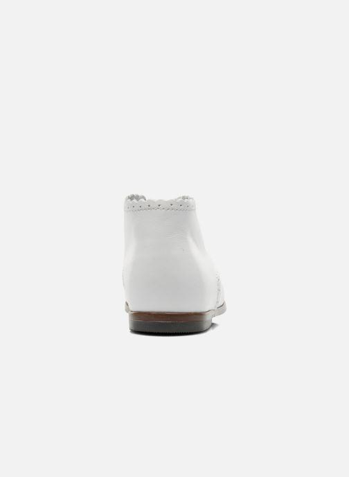 Bottines et boots Little Mary Vivaldi Blanc vue droite