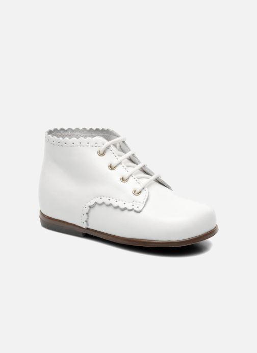 Ankelstøvler Little Mary Vivaldi Hvid detaljeret billede af skoene