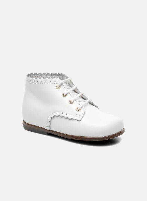 Ankle boots Little Mary Vivaldi White detailed view/ Pair view