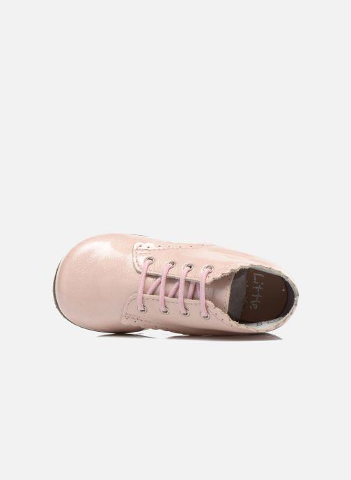 Stiefeletten & Boots Little Mary Vivaldi rosa ansicht von links