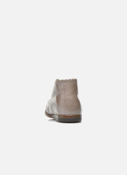 Bottines et boots Little Mary Vivaldi Beige vue droite