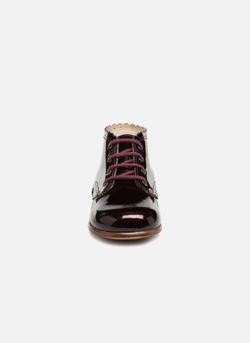 Bottines et boots Little Mary Vivaldi Bordeaux vue portées chaussures