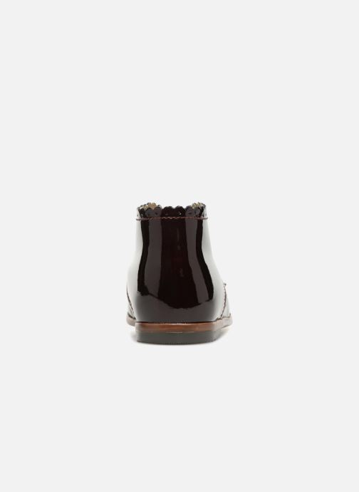 Ankle boots Little Mary Vivaldi Burgundy view from the right
