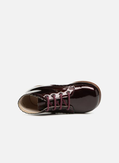 Ankle boots Little Mary Vivaldi Burgundy view from the left