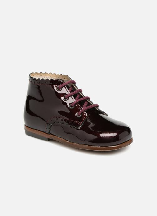 Ankle boots Little Mary Vivaldi Burgundy detailed view/ Pair view