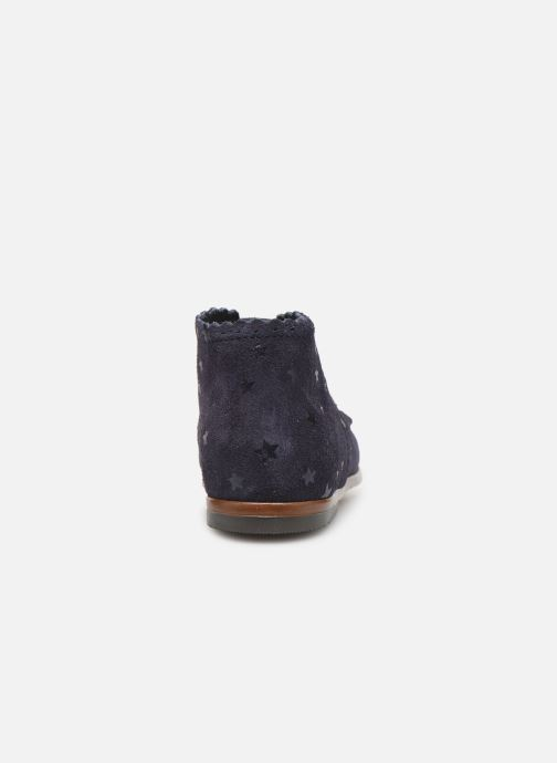 Ankle boots Little Mary Vivaldi Blue view from the right