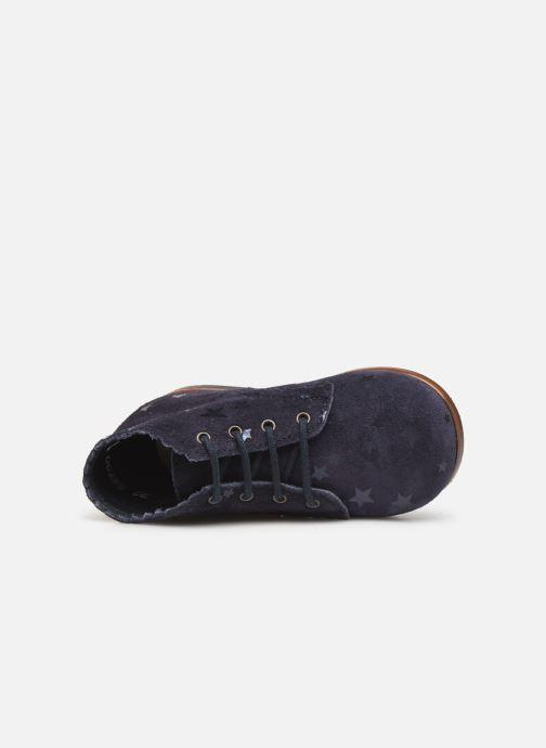 Stiefeletten & Boots Little Mary Vivaldi blau ansicht von links