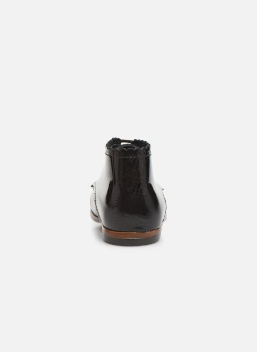 Ankle boots Little Mary Vivaldi Brown view from the right
