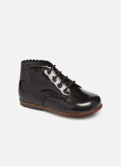Boots en enkellaarsjes Little Mary Vivaldi Bruin detail