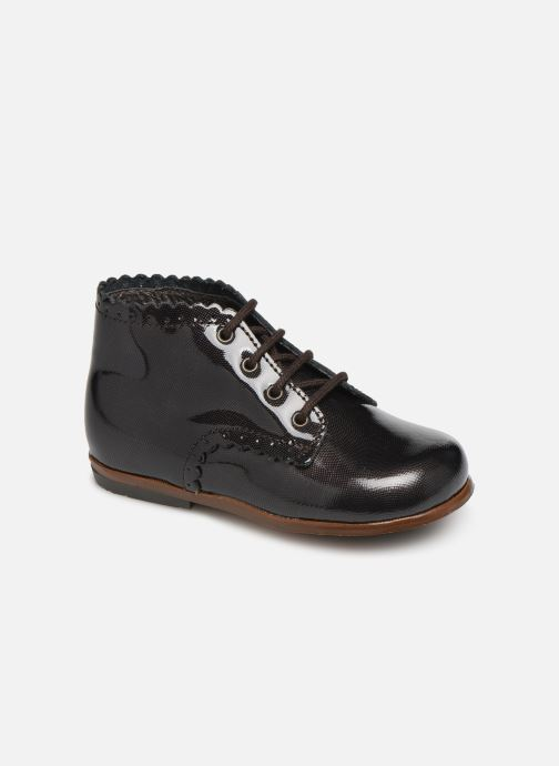 Ankle boots Little Mary Vivaldi Brown detailed view/ Pair view