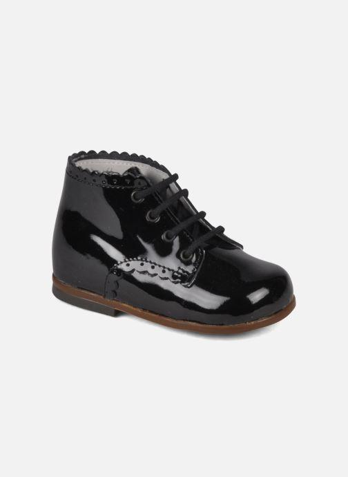 Ankelstøvler Little Mary Vivaldi Sort detaljeret billede af skoene