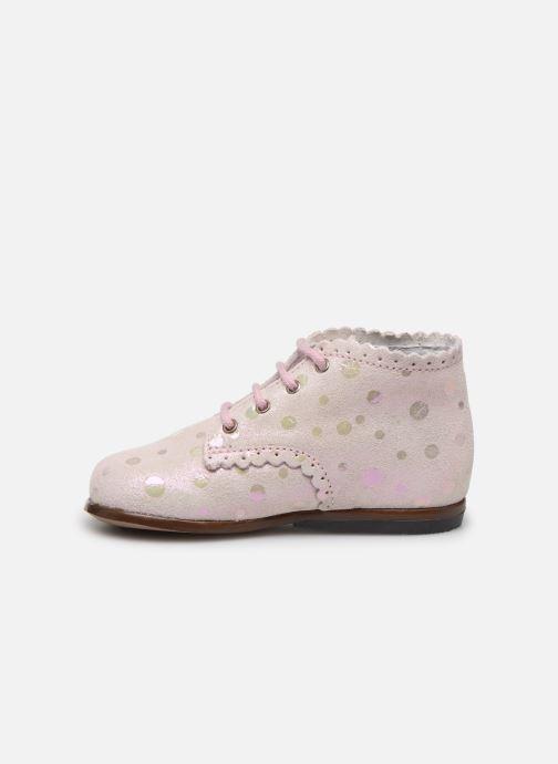 Stiefeletten & Boots Little Mary Vivaldi rosa ansicht von vorne