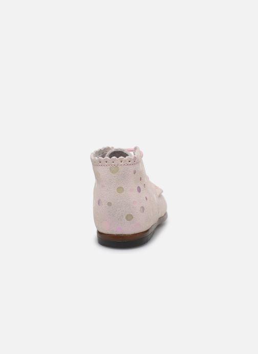 Stiefeletten & Boots Little Mary Vivaldi rosa ansicht von rechts