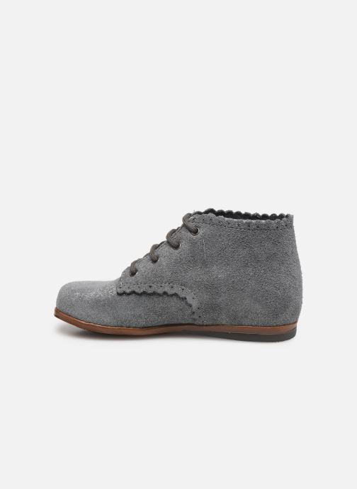 Botines  Little Mary Vivaldi Gris vista de frente