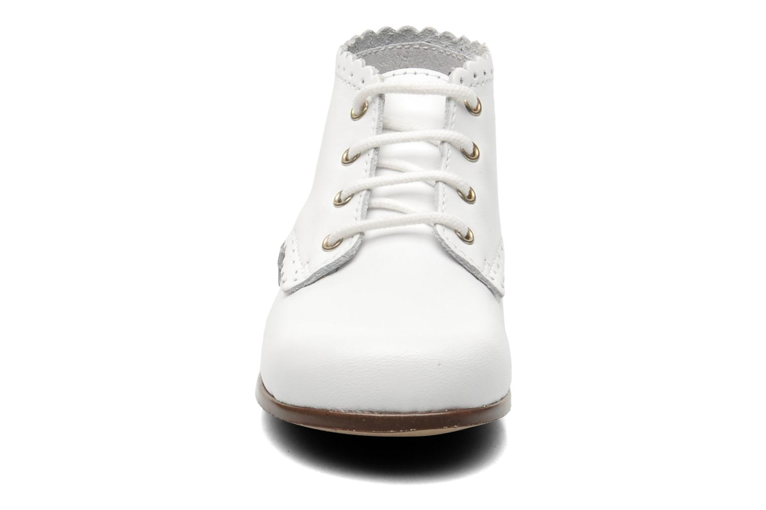 Ankle boots Little Mary Vivaldi White model view