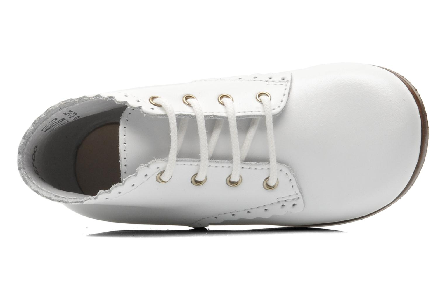 Ankle boots Little Mary Vivaldi White view from the left
