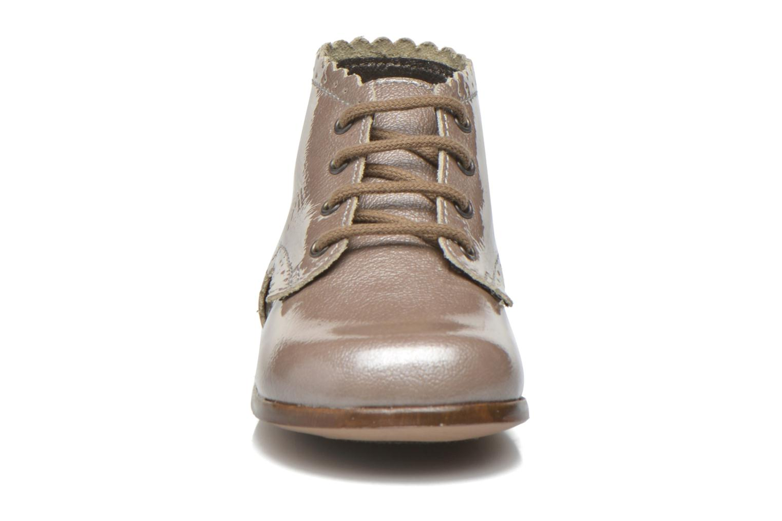 Ankle boots Little Mary Vivaldi Beige model view