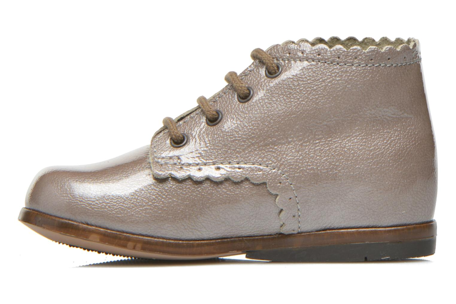 Ankle boots Little Mary Vivaldi Beige front view